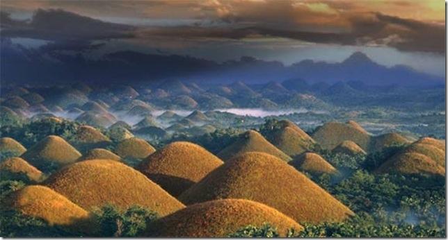 Шоколадные холмы на острове Бохол, изображение №5