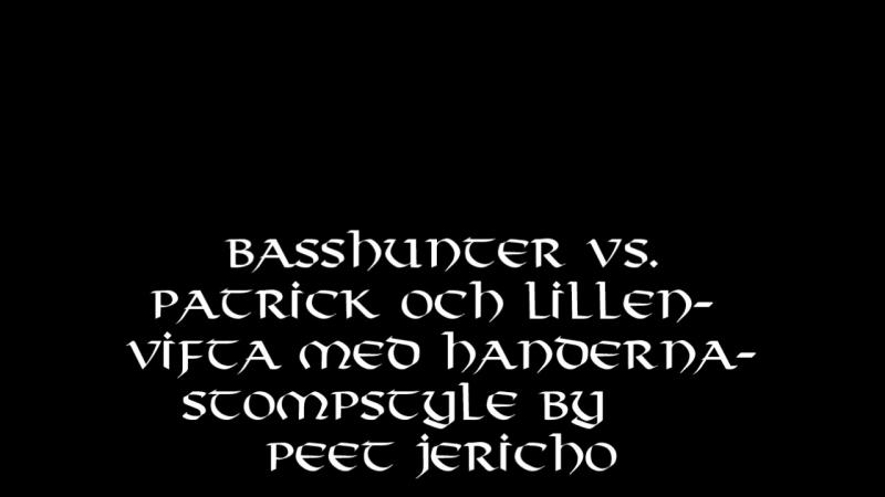 BASSHUNTER -feat Patrik Lillen-vifta med händerna