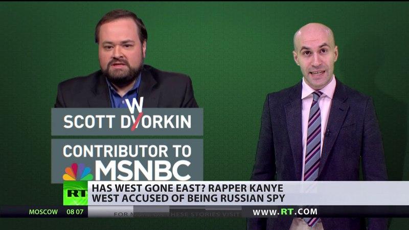 Moskaus langer Arm Rapper Kanye West soll russischer Agent sein