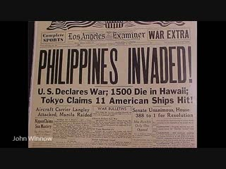 1) japan's attack did not come as a total surprise.