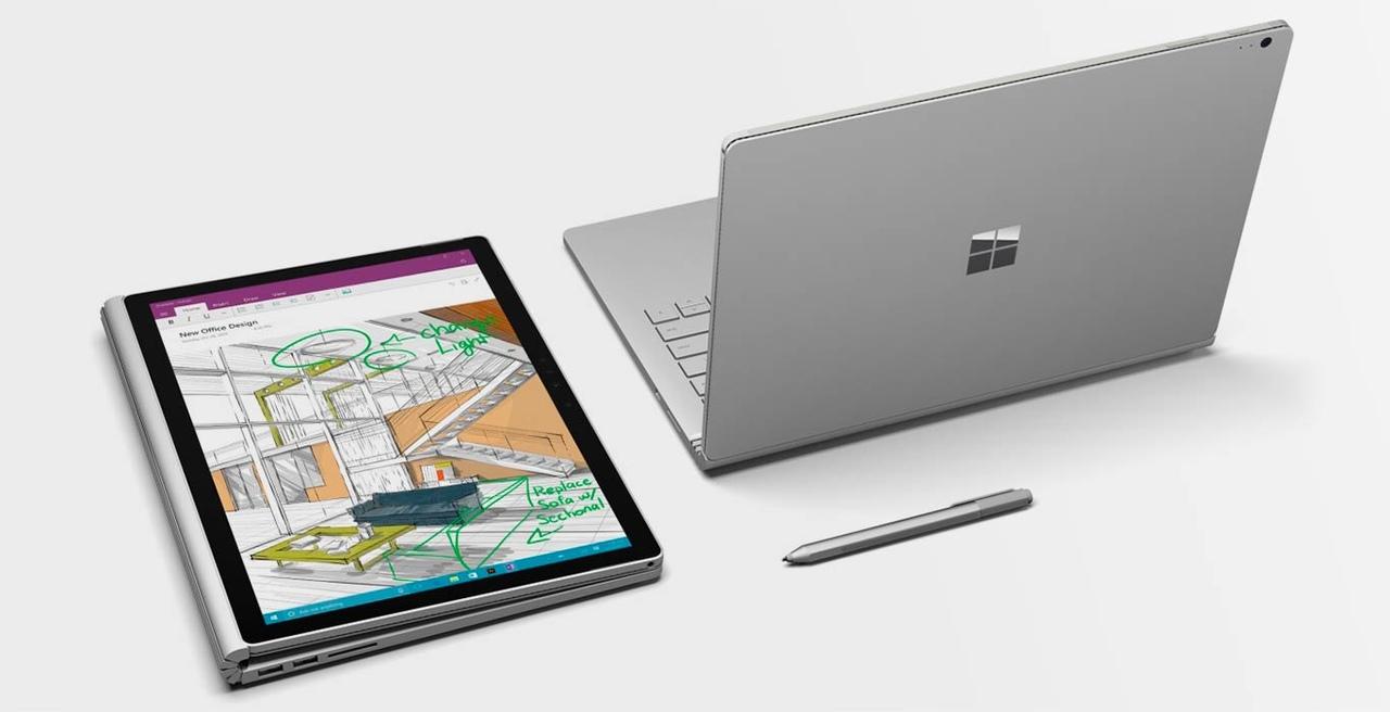 Microsoft Surface Book — типичный ультробук-трансформер! Может быть как планшетом, так и ноутбуком! Но ни о какой производительности тут речи идти не может!