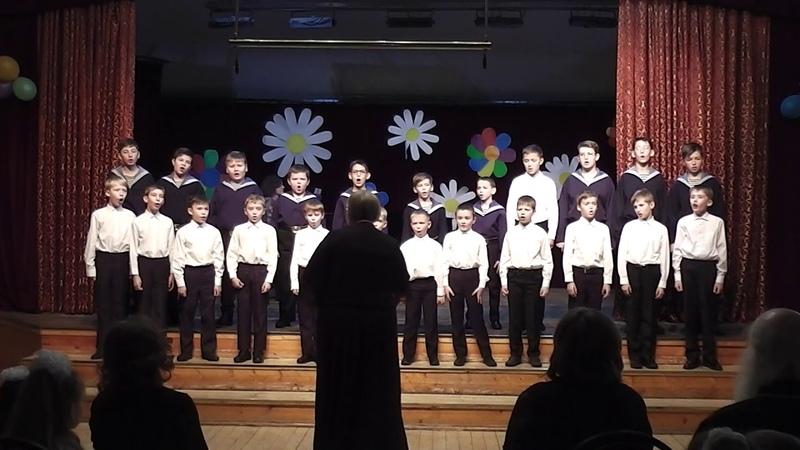 Средний хор мальчиков ДЦМШ Успенский храм Красногорск