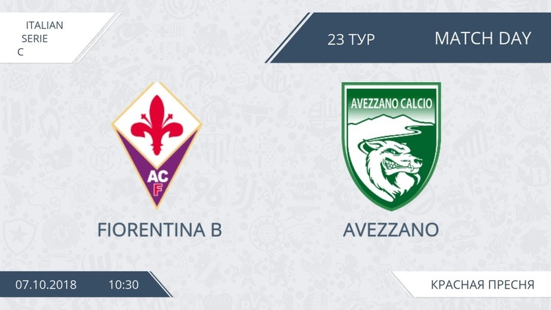 AFL18. Italy. Serie C. Day 23. Fiorentina B - Avezzano