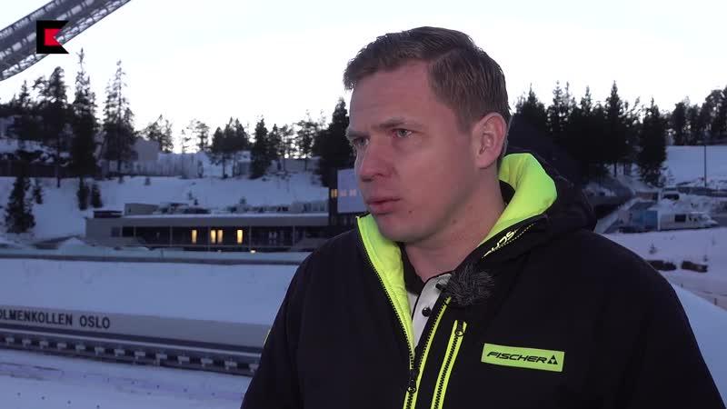 Иван Черезов В том что сборной пришлось ехать в Хольменколлен на автобусе есть свои плюсы Осло 2019