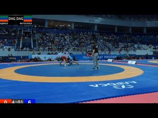 ЧР - 2019. 61 кг. Имам Аджиев - Рамазан Ферзалиев