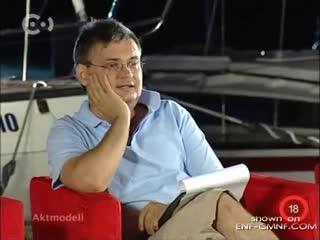 """Голое дефиле (венгерского телешоу """"НЮ-модель"""", 2007 года)."""