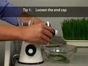 Lexen Healthy Juicer ręczna wyciskarka soku idealna do trawy pszenicznej