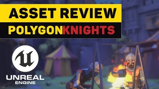 Asset Review: POLYGON Knights Pack | Unreal Engine