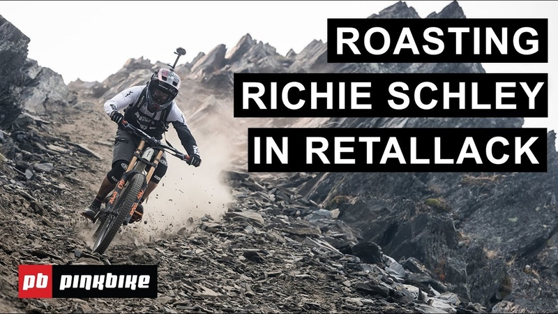 Pro Freeriders Roast Richie Schley in Retallack