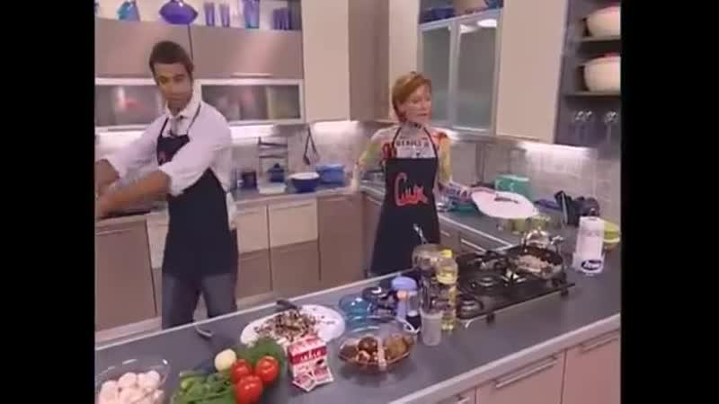 (staroetv.su) Смак (Первый канал, 14.10.2006) Мария Киселёва