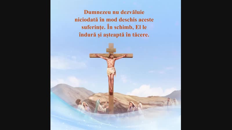 Dumnezeu face curcubeul ca un simbol al legământului Său cu omul