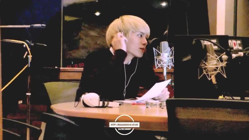 141121 SHINee Jonghyun 쫑디 오프닝 @ MBC 푸른밤 종현입니다 가든스튜디오