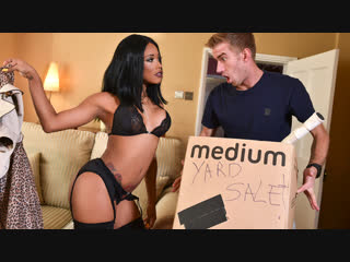 Kiki Minaj - Prized Posessions [Brazzers. HD1080, Big Ass, Big Tits, Ebony, Stockings]