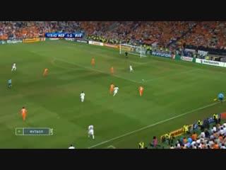 Чемпионат Европы-2008. 1/4 финала. Россия 3:1 Голландия. Евро-2008. Обзор матча.