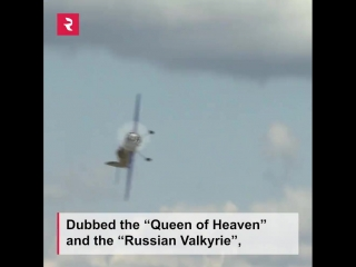 Watch the most decorated female pilot on Earth perform death-defying stunts. Russia's Svetlana Kapanina truly does not know fear