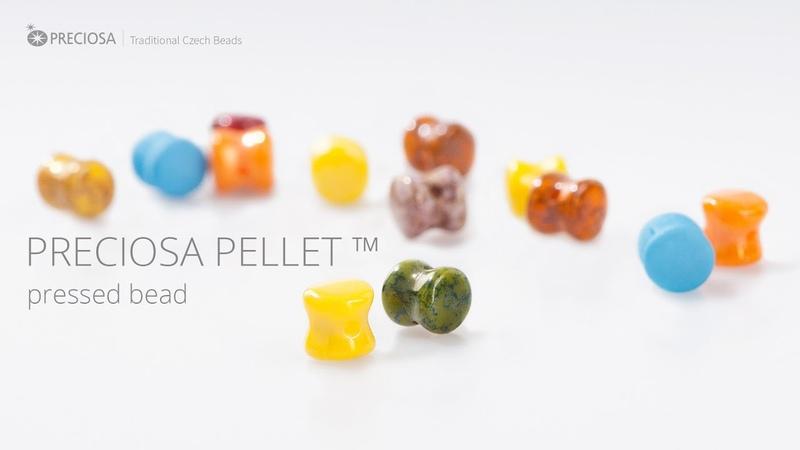 PRECIOSA Pellet™ - Pressed Bead