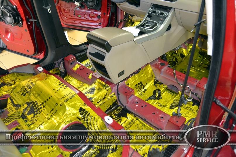Комплексная шумоизоляция Land Rover Evoque, изображение №4