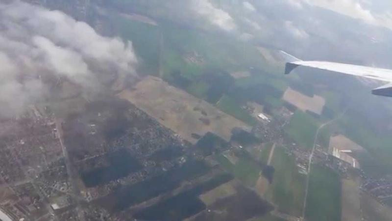Take off Berlin Tegel Lufthansa A320