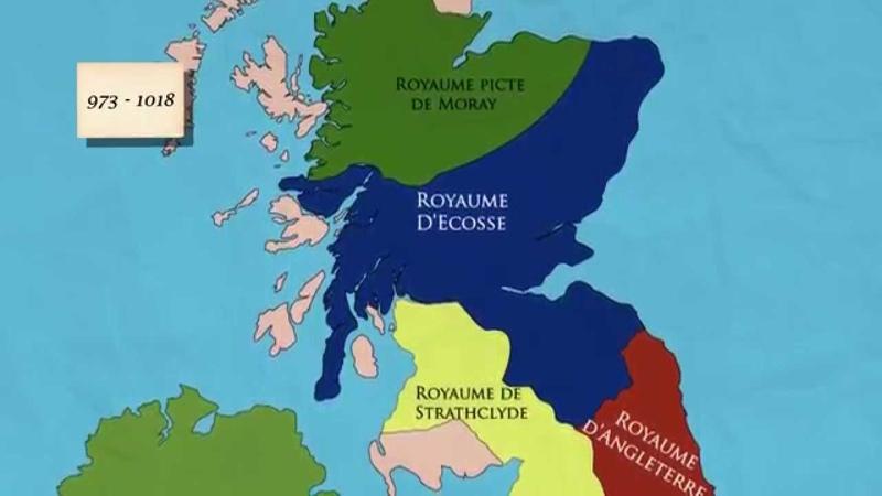 Histoire de l'Ecosse de la chute de l'Empire Romain à l'émergence du royaume d'Alba