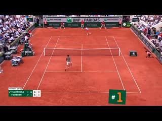 Три царских удара федерера в топе дня, разбавленных прыжками надаля и мартич