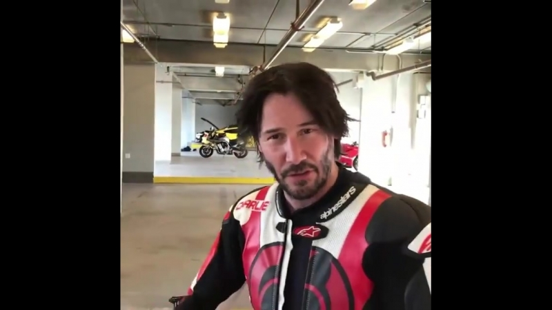 Honda RVF750R RC45 Laps With Keanu Reeves