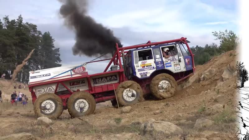 Truck trial Kunstat 2019 - cely film HILLCLIMB SPECIAL - vyjezdy Tatra 813 Tatra 815 Praga V3S