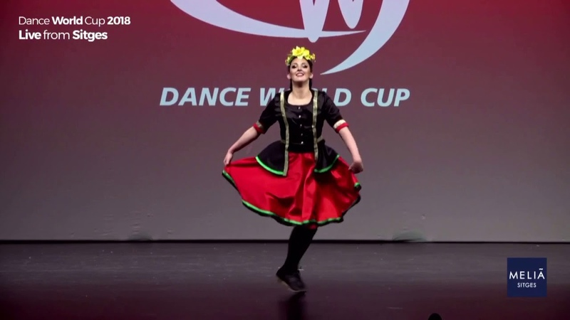 Meg Meirion Dance World Cup 2018 Welsh Clogging