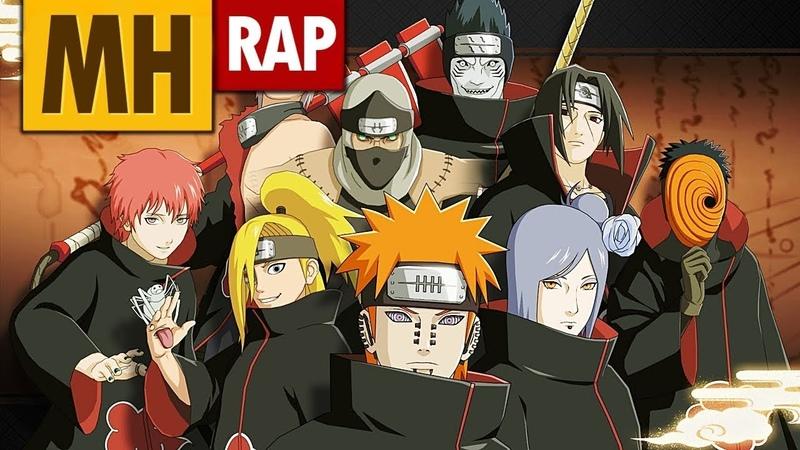 O RAP MAIS INSANO DA AKATSUKI ( Naruto Shippuden ) MHRAP
