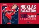 Бэкстрем провел 900 й матч за Вашингтон