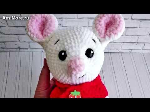 Амигуруми: схема Мышонок Пип. Игрушки вязаные крючком Free crochet patterns.