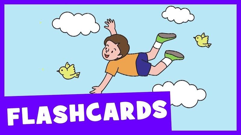 Learn Verbs 1   Talking Flashcards