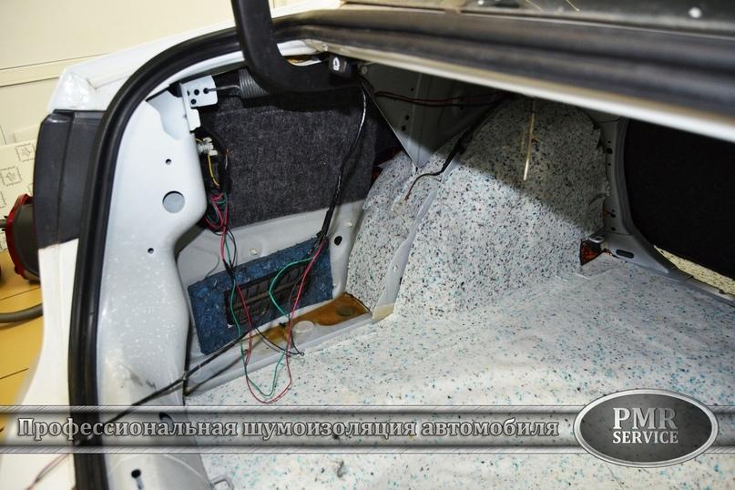 Комплексная шумоизоляция Volkswagen Jetta, изображение №11