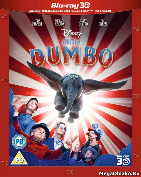 Дамбо / Dumbo (2019/BDRip/HDRip/3D)