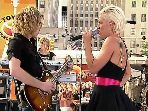 P!nk Just Like A Pill Live Today Show
