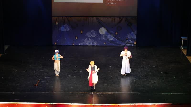Magi: Labyrinth of Magic: Sinbad, Ali-baba Salija, Alladin — Toriya: CAIN, Kyou Jams, Foxy — Oni no Yoru 2019
