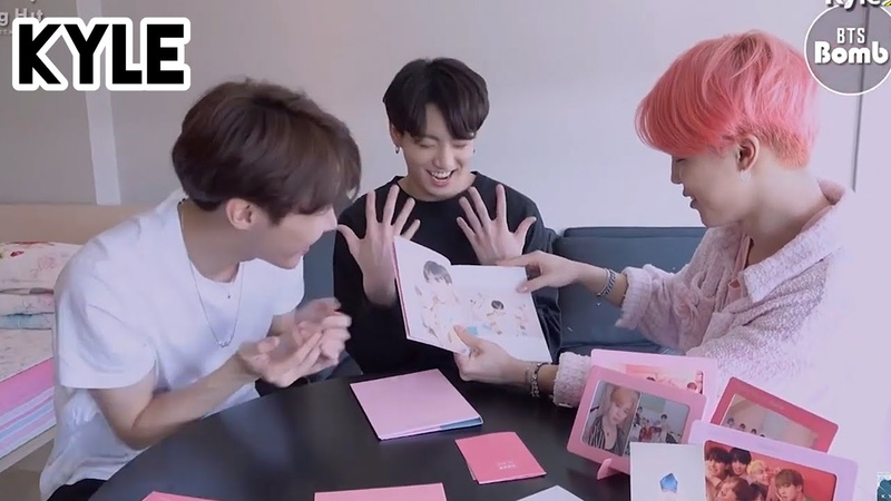 [Озвучка by Kyle] Распаковка альбома MAP OF THE SOUL PERSONA BTS (Jimin Jungkook J-hope)