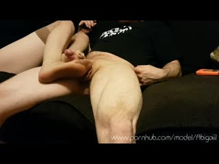 FOOTJOB WITH STOCKINGS - I LOVE TO TEASE, PLEASE, AND EDGE HIM-Порно,Ноги,Футфетиш,Футжоб,Porn,Foot,Feet,Footjob,FootFetish