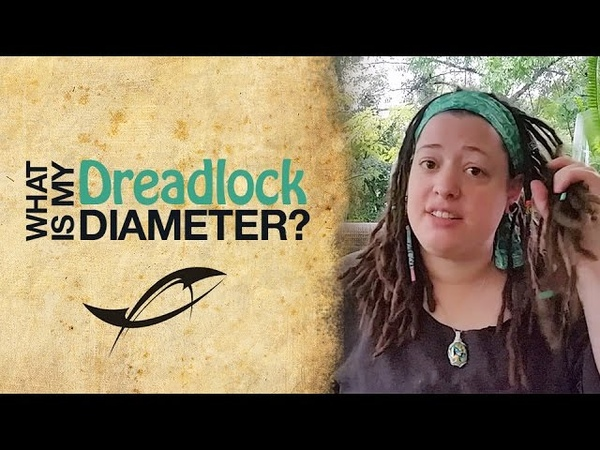 Dreadlock Diameter or Size