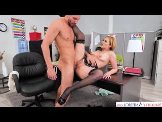 Naughtyoffice kate england fucks at the office naughty america blonde busty babe milf creampie cumshot
