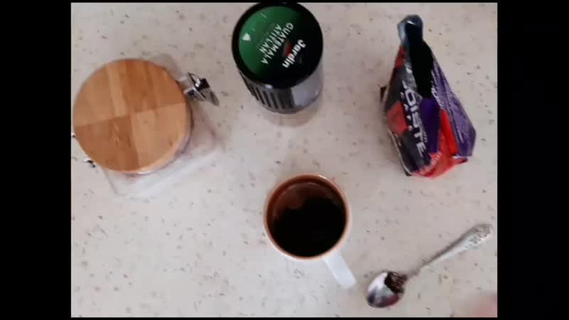 Реклама кофе от Авроры Гахрамановой