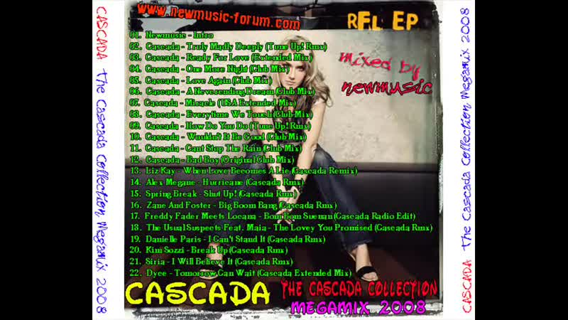 Cascada Collection Megamix 2008