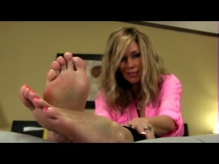 Step mom give foot joi