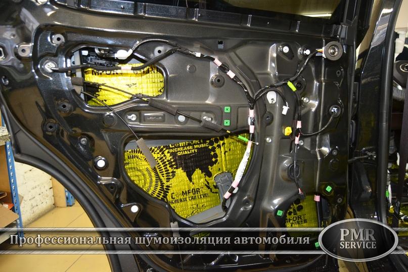 Шумоизоляция Lexus LX, изображение №11