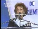 DiFilm Hilda Bernard en los Premios Podesta 1994