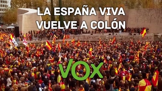 Hemos de llenar las calles para espantar y echar al ocupa de la Moncloa | Santiago Abascal