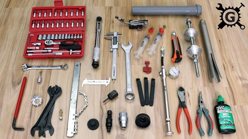 Fahrrad Werkzeug zur Wartung und Reparatur