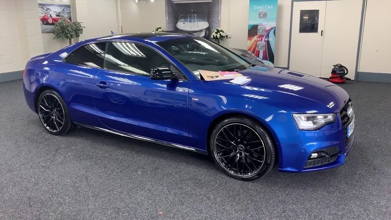 2016 Audi A5 3.0 TDi Coupe Quattro Secial Edition, Sepang Blue for sale