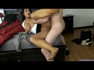 [primal's taboo sex] raven hart getting along with mom / домашний инцест [incest, milf, mommy, mother, son, taboo]