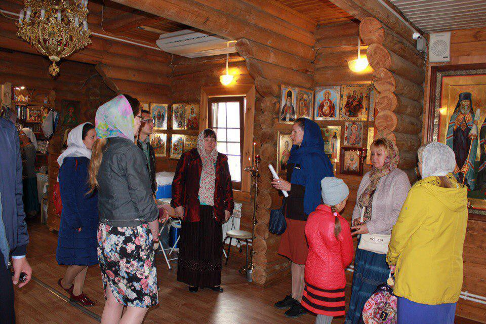 В храме на Покровской рассказали о празднике Покрова Пресвятой Богородицы и святости