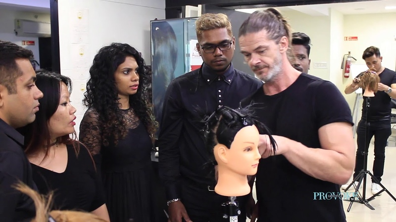 Bill Watson ToniGuy's International Artistic Educational Director was back in Chennai